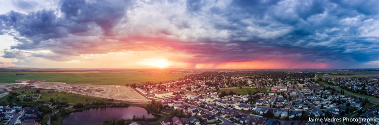 Lethbridge Alberta Aerial Photography