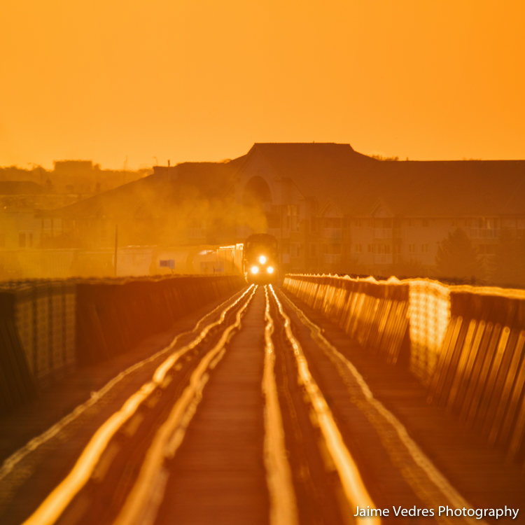 HighLevel Bridge Train, Lethbridge