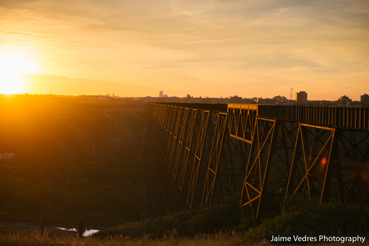 Lethbridge Highlevel Bridge Sunrise