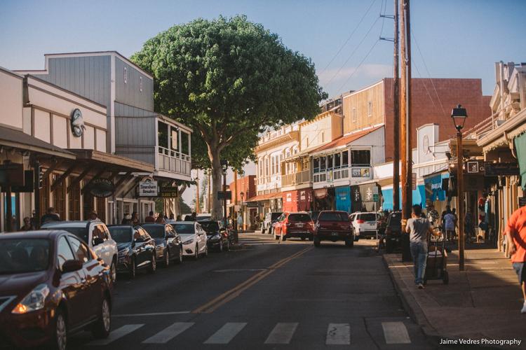 Lahaina Maui Front Street